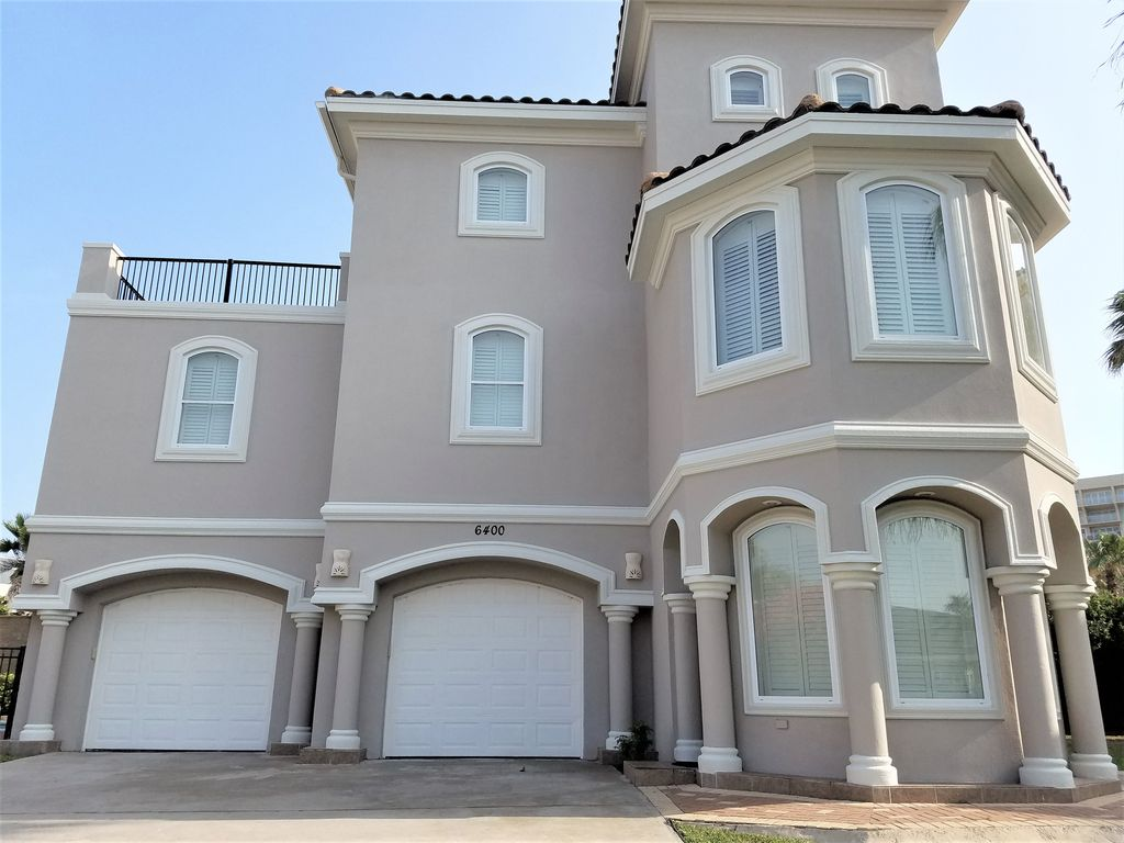 Mediterranean 4ba 4ba 3 houses to beach gated com hot for 500 000 dollar homes in texas