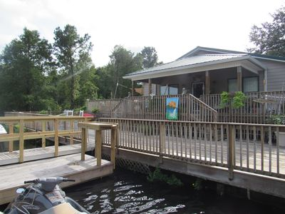 Photo for DuRant Rivah House -- 4 Bedroom/3 Bath With Pool, Dock & Boat Transportation