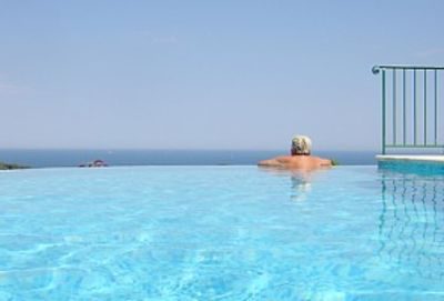 Photo for Med View Villa :  beautiful infinity pool and spectacular sea views