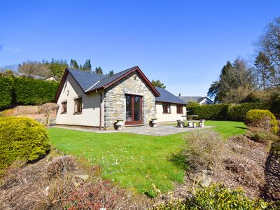 Photo for Mountain views from peaceful, dog-friendly and generous accommodation 2 miles from amenities of char