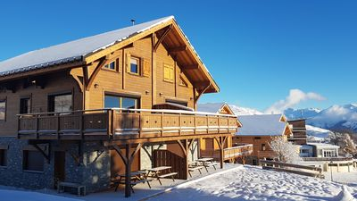 """Photo for Chalet """"Flocon"""" sleeps 8 - at the foot of the slopes - La Toussuire"""