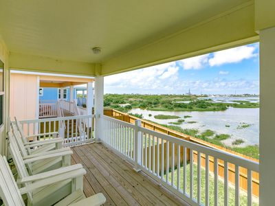 Photo for Wetland Views in a Great Location – Brand-New 4BR Stilt House with Deck