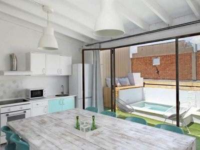 Photo for Vacation home Casa Azul  in Barcelona, Barcelona - 8 persons, 3 bedrooms