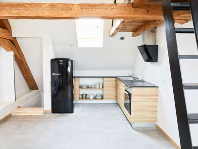 Photo for Castle's life at 2km from Annecy, fully renovated loft