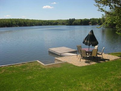 FISH OR SWIM OFF THE DOCK - BEST VIEW OF THE LAKE FROM RIGHT HERE