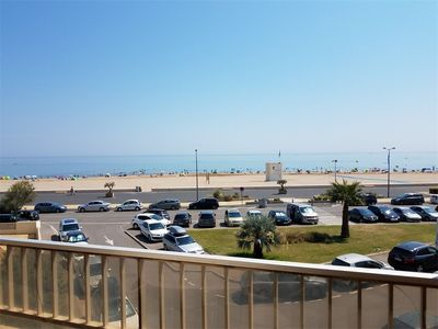 Photo for 3-rooms flat for 4 people - amazing sea view - NARBONNE PLAGE