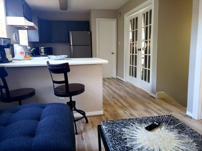 Photo for Cozy, Private, Super Clean, Carriage Apartment Home 2.2 miles to Medical Center