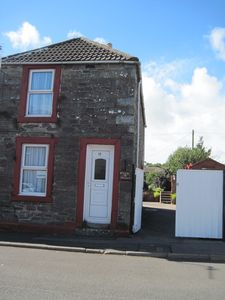Photo for Holiday in a pet friendly quiet seaside village in the South West of Scotland