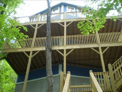 Photo for RILEY'S RESORT Will accomadate 18 people!! And just 32 Steps to the lake