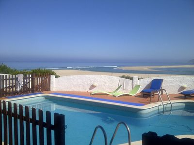 Photo for House with exceptional location and view on Bom Sucesso Beach