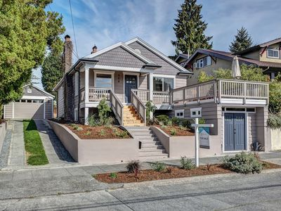 Photo for Beautiful Phinney Ridge home, close Green Lake, near downtown, walk everywhere