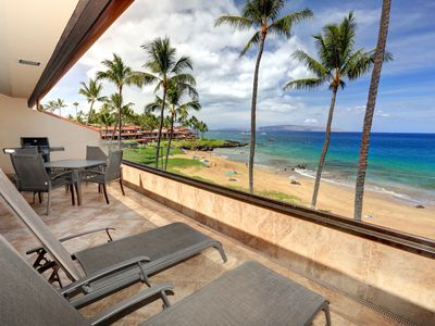 Photo for New Listing! Incredible Ocean Views! Premier Building at Makena Surf B305