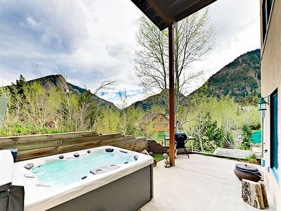 Photo for Updated 1BR w/ Mountain Views and Fire Pit - Quick Walk to Main Street