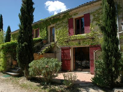 Photo for Luberon Bastide 18th century - 6 bedrooms - sleeps 16 - Private swimming pool