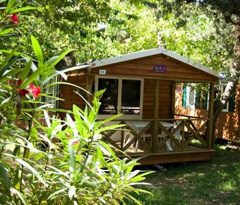 Photo for Camping Les Cascades **** - California cottage air conditioned 3 rooms 4 persons