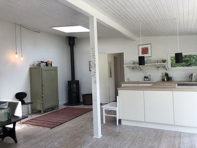 Photo for Modern architect designed holiday cottage 250 meters from the beach