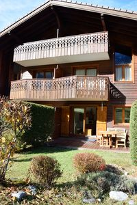 Photo for Cozy 3p RDJ in chalet view Chamonix Mont Blanc