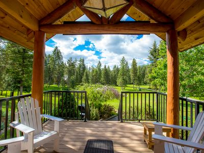 Photo for LUXURY VACATION HOUSE near Golf, Whitefish Lake & Glacier Park in  Whitefish.