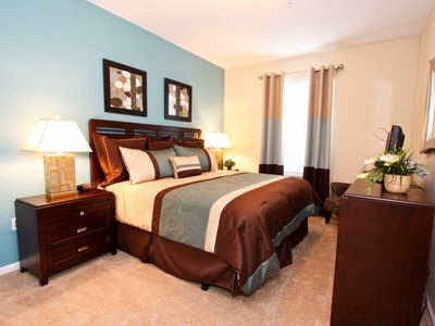 Photo for Beautiful 2 Bed 2 Bath Condo with Two King beds, 5 minutes to Disney