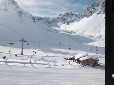Photo for Les Tommeuses 69. Doorstep Skiing in Val Claret's best location.