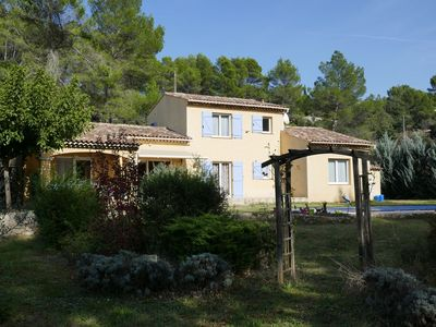 Photo for New in Carcès, beautiful villa on a fully enclosed plot with swimming pool