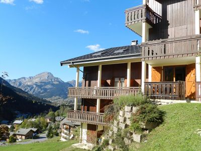 Photo for Ideally located in Chatel close to the center of the resort and ski lifts of Super Chatel, this beau