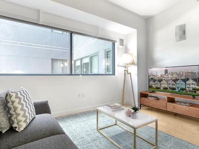 Photo for Crisp Rincon Hill 1BR w/ W/D + Parking near Google Shuttle by Blueground