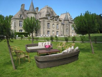 Photo for CHARMING CASTLE near Yvetôt-Bocage with Pool & Wifi. **Up to $-1769 USD off - limited time** We respond 24/7
