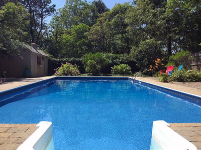 Photo for Prices cut! Private, spacious, 5BR - huge heated pool, central AC