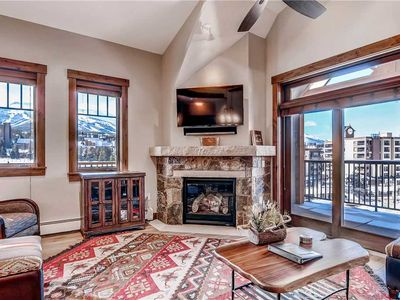 Photo for Large luxury condo with 2 balconies and Ski Area Views