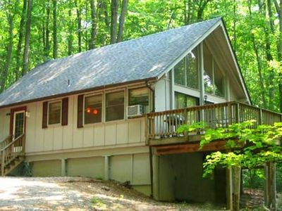 "Photo for ""Hot Tub Heaven #3 - Vacation Cabins for Rent in Linden, Virginia"
