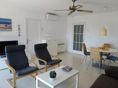 Photo for Apartment 50 m from the beach. Ideal for families. Small pets allowed