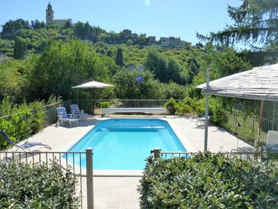 Photo for Villa On Edge Of Historic Reillanne In Luberon National Park.