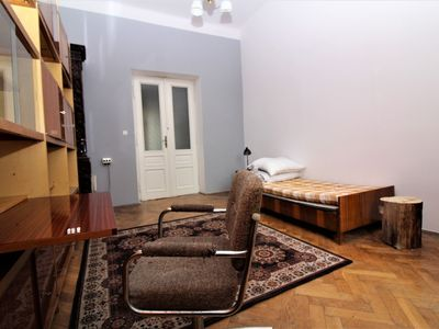 Photo for Giant vintage apartment between old town and Jewish quarter