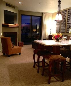 Photo for Gorgeous SKI Condo!Beautiful views of Jordanelle 2BD/3BTH HOT-TUBS, FiTNESS,POOL