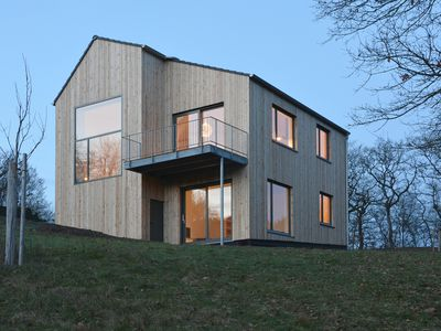 Photo for Architect house, new building of wooden house 2015 on 4000 m2 of meadows