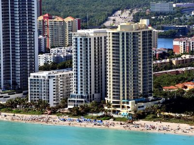 Photo for Apartment in the center of Sunny Isles Beach with Lift, Parking, Internet, Washing machine (131003)