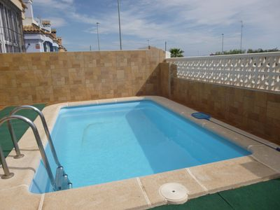 Photo for 'Home from Home' Spacious Family Villa - Private Pool - WI-FI - 3 Sun Terraces