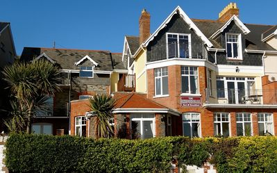 Photo for Large Victorian House Overlooking Woolacombe Beach. Hot Tub, BBQ, Parking
