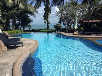 Photo for Butterfly Beach Villa in Traditional Thai Style only 20 steps from the beach