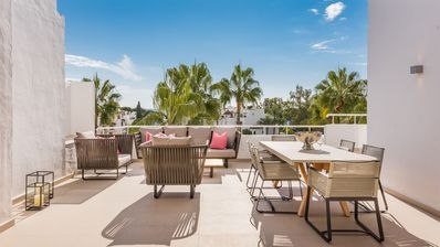 Photo for Luxury penthouse in Alhambra del Mar, Golden Mile, Marbella