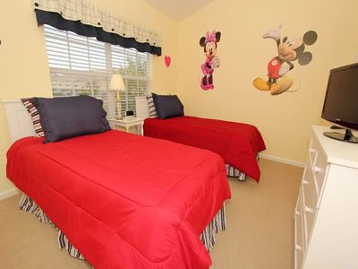 Photo for Budget Getaway - Windsor Hills Resort - Welcome To Contemporary 3 Beds 3 Baths  Pool Villa - 3 Miles To Disney