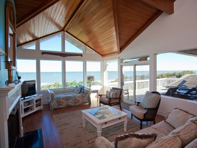 Photo for Luxury Oceanfront Beach Home - Another Day in Paradise