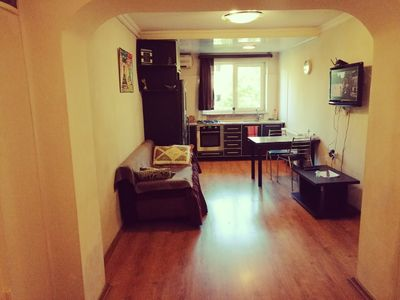 Photo for Comfort and convenience one-bedroom apartment with balcony
