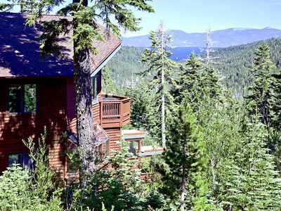 Photo for Gorgeous 4br Home with Hot Tub and Breathtaking Views. Close to Sherwood Chair at Alpine Meadows!
