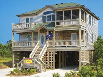 Photo for Family Dream Vacation! Oceanview, Pool, Hot Tub, Kayak, Beach Cart & Chairs, PS2