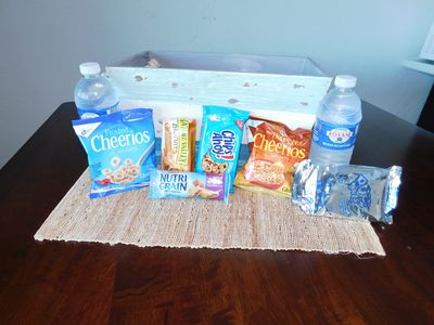 Welcome snacks to get you started