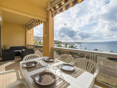 Photo for Apartment 55 m² - Residence La Colomba-2 rooms 4 people - 30 m from the beach.