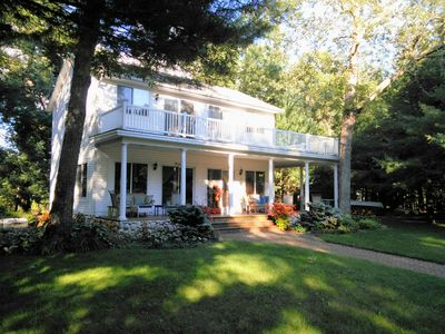 Photo for Wonderful Wraparound Porch Overlooking Big Star Lake in Private North Bay Shores