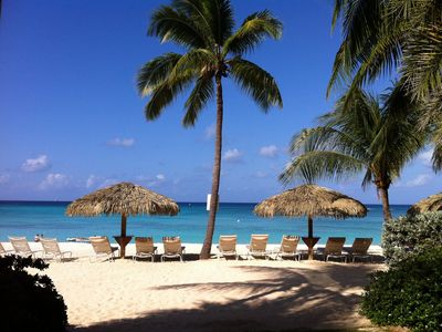 Photo for CARIBBEAN CLUB GRAND CAYMAN -  Luxury 3 Bed Villa on Seven Mile Beach - Resort Access